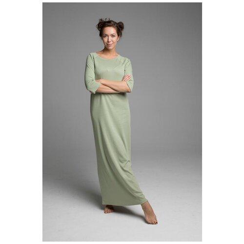 ночные сорочки pastilla ночная сорочка ваниль цвет голубой xl Женская ночная сорочка SLEEP&HOME (цвет-Оливковый размер-XL)