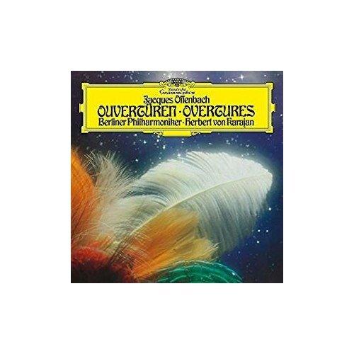 Виниловые пластинки, Deutsche Grammophon, HERBERT VON KARAJAN - Offenbach: Overtures (LP) виниловая пластинка herbert von karajan offenbach overtures 0028948363988