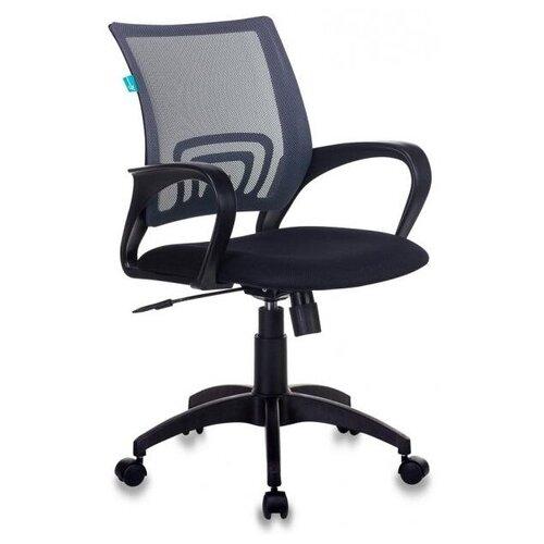 Компьютерное кресло Бюрократ CH-695NLT офисное, обивка: текстиль, цвет: темно-серый/черный недорого