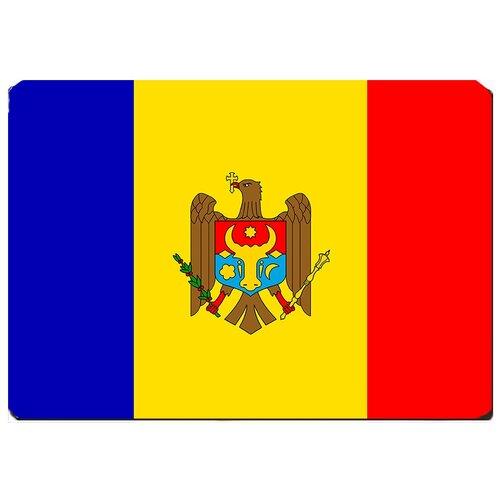 Игровой коврик для мыши флаг Молдовы