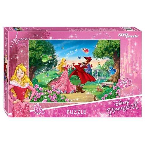 Купить Степ Пазл Пазл «Принцесса Аврора», 560 элементов, Step puzzle, Пазлы