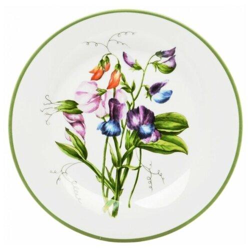 Тарелка обеденная Dasen Душистый горошек 23 см