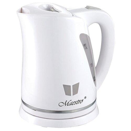 Электрический чайник 1,7 Л MAESTRO MR-038 чайник электрический maestro mr 034 1 7л диск синий