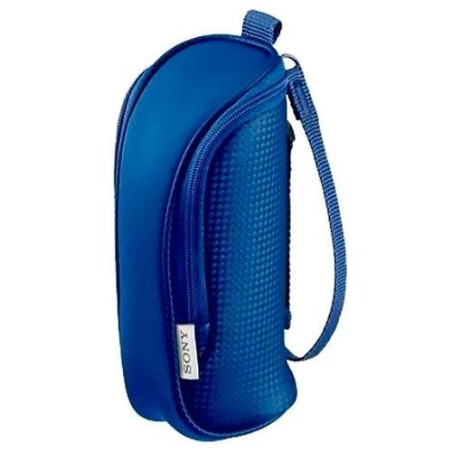 Чехол для видеокамеры Sony LCS-BBE Blue защита от воды голубой. Внутренние размеры 16x6x6 см (LCSBBEL.6AE)