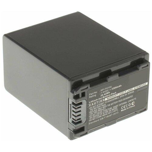 Фото - Аккумулятор iBatt iB-B1-F324 3300mAh для Sony NP-FH50, NP-FH40, NP-FH60, NP-FH70, NP-FH100, NP-FH30, NP-FH120, NP-FH90, iB-F324, vpl fh60