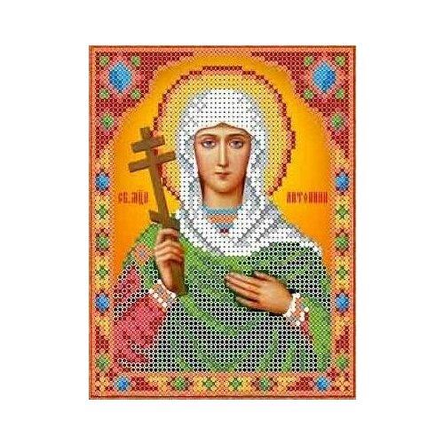 Святая Антонина Рисунок на ткани 13х16,5 Каролинка ткби 5044 13х16,5 Каролинка ткби 5044)
