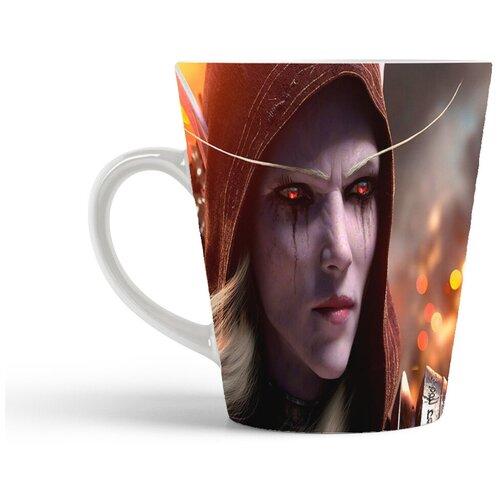 Кружка-латте CoolPodarok World of Warcraft Ворлд оф Варкрафт (тракса)