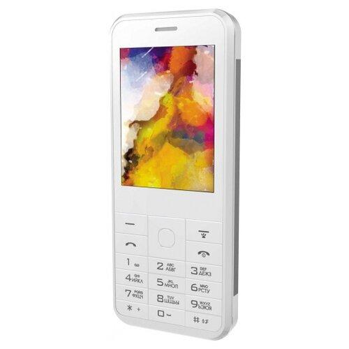 Телефон VERTEX D502, серебристый