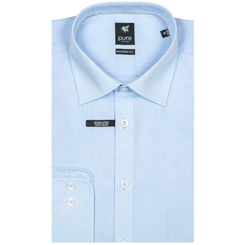 Рубашка pure размер XXL голубой