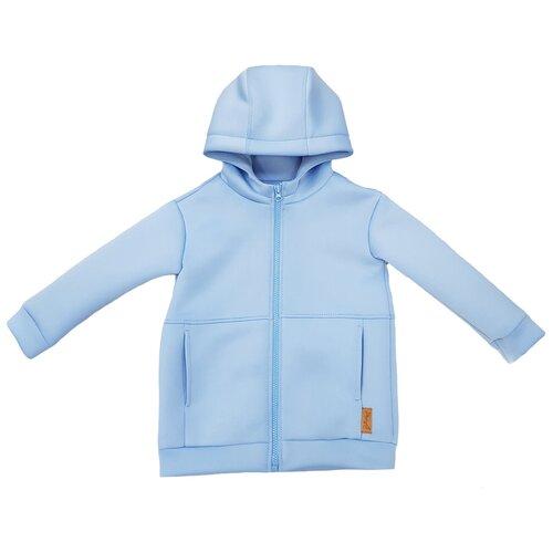 Фото - Толстовка ЁМАЁ размер 116, голубой блузка mek размер 116 голубой