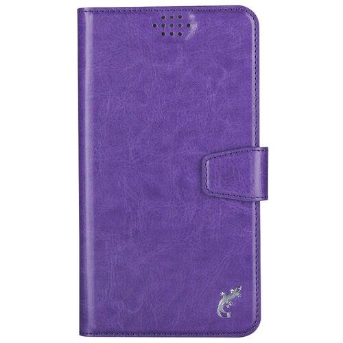 Чехол-книжка универсальный G-Case Slim Premium (GG-779/GG-780/GG-781/GG-782/GG-783/GG-784/GG-785/GG-786/GG-787/GG-788) фиолетовый
