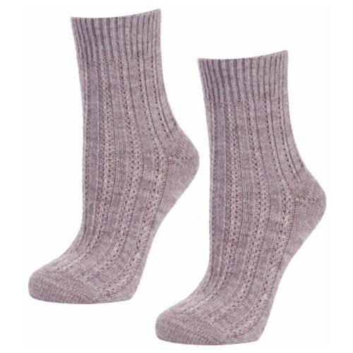 Женские бежевые теплые носки RuSocks, р-р. 35-37, 2 шт