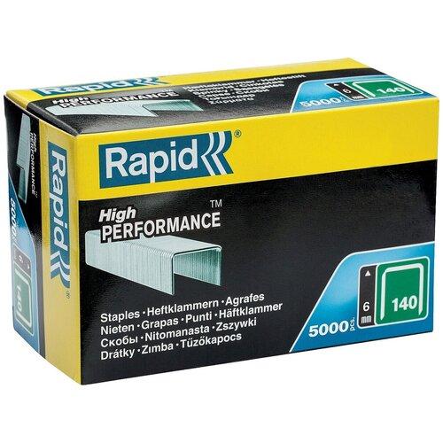 Скобы Rapid 11905711 тип 140 для степлера, 6 мм