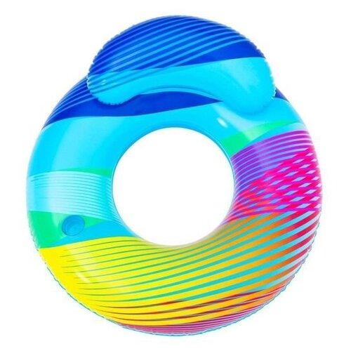 Фото - Надувной круг-кресло с подсветкой, 118х117 см, BestWay круг надувной bestway 36057 76 см