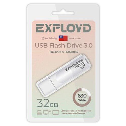 USB Flash Drive 32Gb - Exployd 630 EX-32GB-630-White