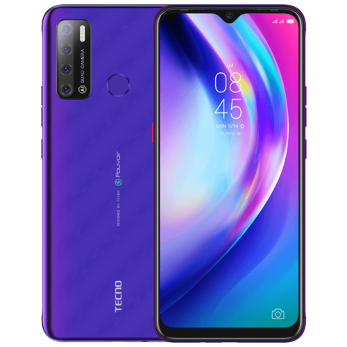 Смартфон TECNO Pouvoir 4 фиолетовый