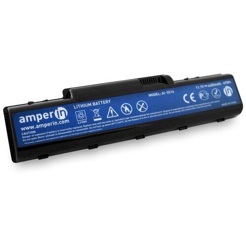 Аккумуляторная батарея Amperin для ноутбука Acer Aspire 4732, 5516 11.1V 4400mAh (49Wh) AI-5516