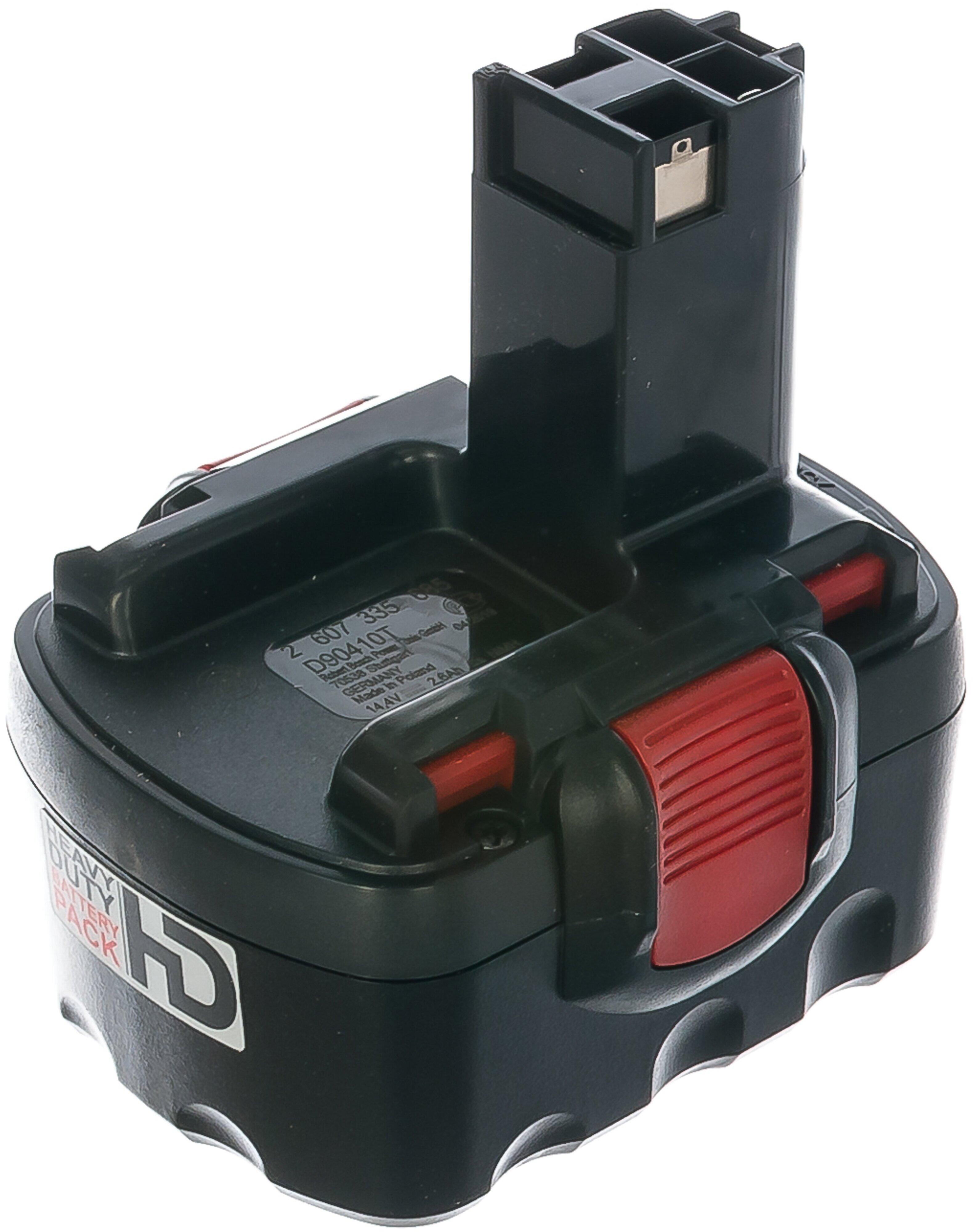Аккумулятор BOSCH 2607335686 Ni-Mh 14.4 В 2.6 А·ч