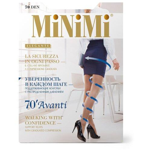 Фото - Колготки MiNiMi Avanti, 70 den, размер 4-L, fumo (серый) колготки minimi vittoria 20 den размер 4 l fumo серый