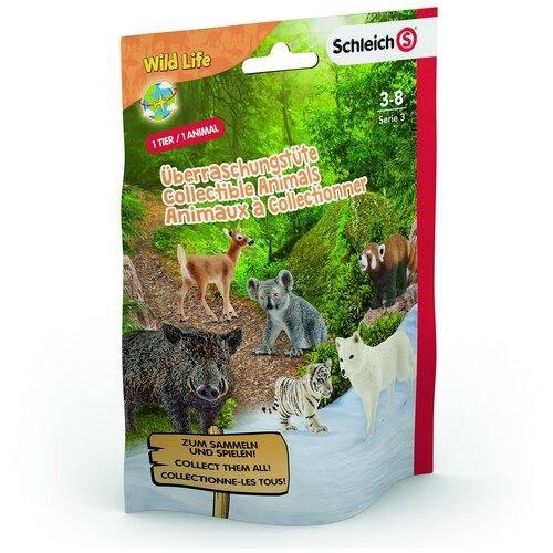 Купить Пакетик-сюрприз Schleich Wild Life XS, 1 фигурка (87916/0757), Игровые наборы и фигурки