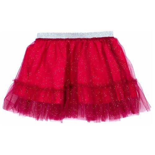 комплект одежды playtoday размер 92 красный белый темно синий Юбка playToday размер 92, темно-красный