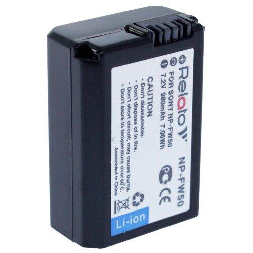 Фото - Аккумулятор Relato NP-FW50 (схожий с Sony NP-FW50) аккумулятор acmepower np fw50