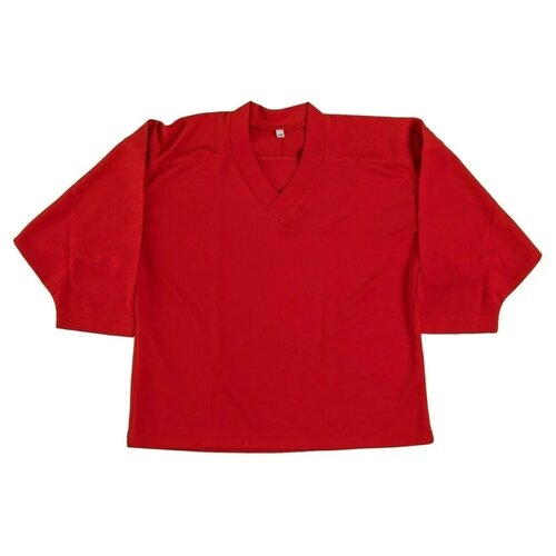 Майка LECOMPRO хоккейная тренировочная размер 48, красный
