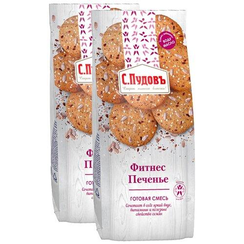 Фото - С.Пудовъ Мучная смесь Фитнес печенье 2 шт., 0.35 кг с пудовъ мучная смесь печенье имбирное с цукатами 0 4 кг