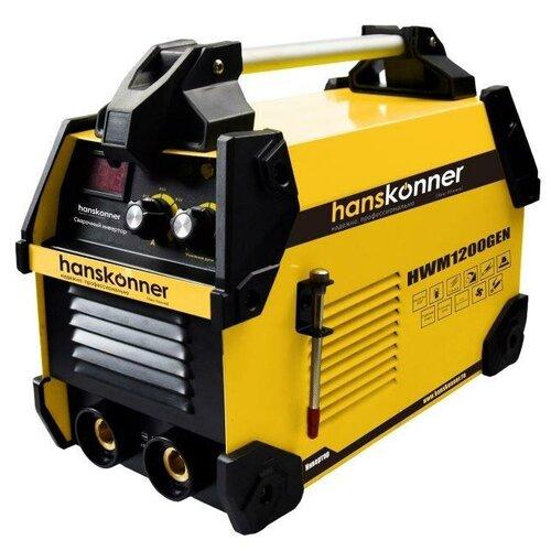 Сварочный аппарат инверторного типа Hanskonner HWM1200GEN MMA сварочный аппарат инверторного типа crown ct33100 mma