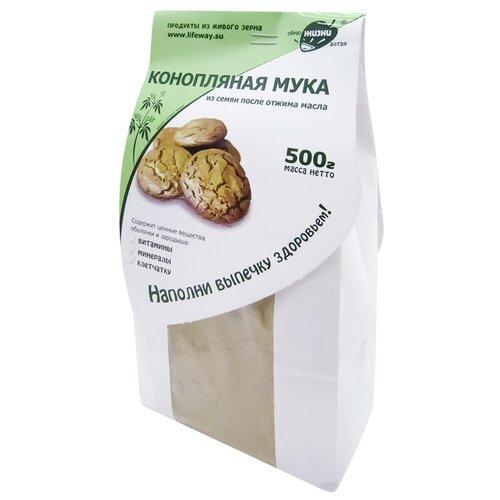Мука Образ Жизни Алтая конопляная из семян после отжима масла, 0.5 кг