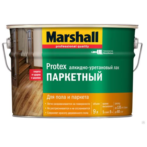 Лак Marshall Protex Parke Cila 90 алкидно-уретановый бесцветный 9 л