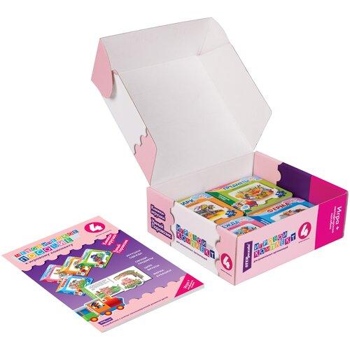 Фото - Step puzzle Книжки-игрушки Умный Паровозик. Игровой комплект №3 step puzzle книжки игрушки умный паровозик игровой комплект 3