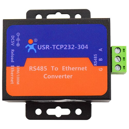 usr tcp232 306 free shipping supports tcp client short connection function supports rs232 rs485 rs422 port 5 36v dc Комплект медиаконвертеров USR IOT USR-TCP232-304