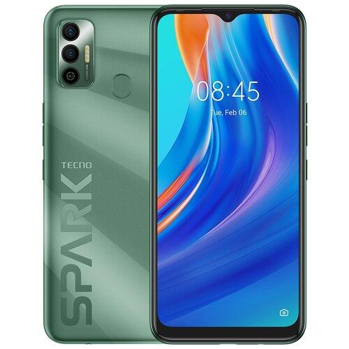 Смартфон TECNO Spark 7 4/64GB зеленый
