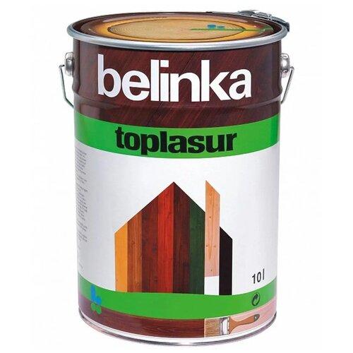 Фото - Биоцидная пропитка Belinka Toplasur 15 дуб 10 л пропитка belinka tophybrid 2 5 л 15 дуб