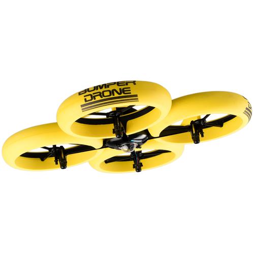 Купить Квадрокоптер Silverlit Bumper Drone HD желтый, Квадрокоптеры