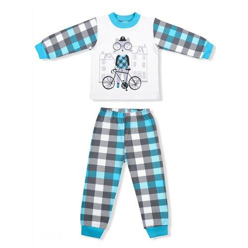 Фото - Пижама LEO размер 98, голубой пижама leo размер 98 красный