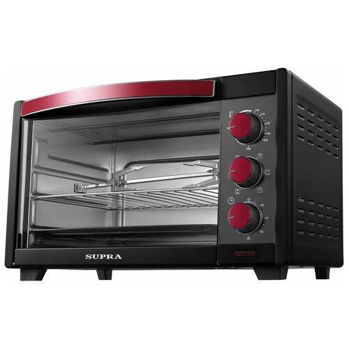 Мини-печь SUPRA MTS-3201R черный/красный