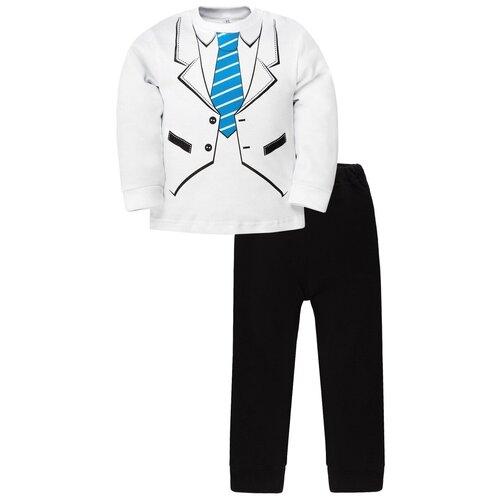 Фото - Комплект одежды Утенок размер 98, белый/черный/синий комплект одежды утенок размер 98 белый черный