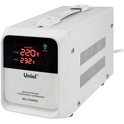 Стабилизатор напряжения однофазный Uniel RS-1/1000LR белый