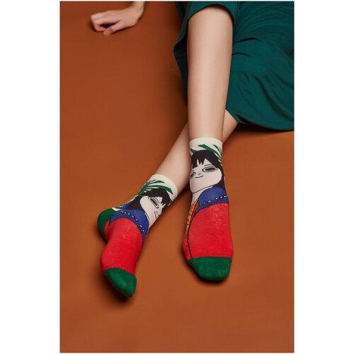 Носки Красная Жара (красный; синий; зеленый) 36-41
