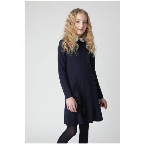 Фото - Платье Gulliver размер 128, синий плавки gulliver размер 122 128 синий