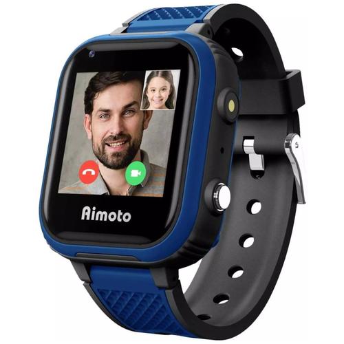 Детские умные часы Aimoto Indigo черный/синий