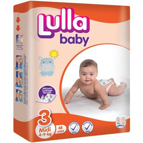 Фото - Lulla Baby подгузники 3 (4-9 кг), 68 шт. skippy подгузники econom 3 4 9 кг 56 шт