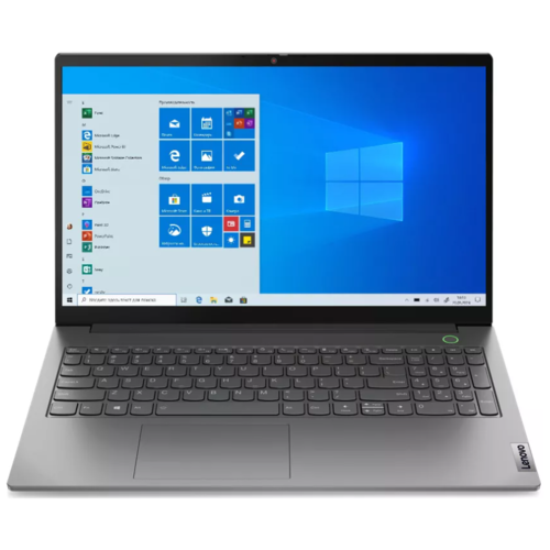 "Ноутбук Lenovo ThinkBook 15 G2 ARE (AMD Ryzen 5 4500U 2300MHz/15.6""/1920x1080/16GB/512GB SSD/AMD Radeon Graphics/Windows 10 Pro) 20VG00AHRU серый"