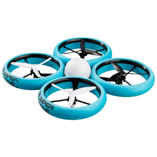 Купить Квадрокоптер Silverlit Bumper Drone голубой, Квадрокоптеры