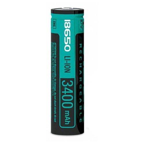 Фото - Аккумулятор Videx 18650 3400 mAh Li-ion VID-18650-3.4-WP аккумулятор незащищенный sanyo ncr18650bf 18650 3400мач 3 7в