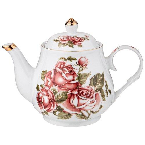 Чайник LEFARD корейская роза 1100 мл lefard заварочный чайник корейская роза 1 3 л белый розовый золотой