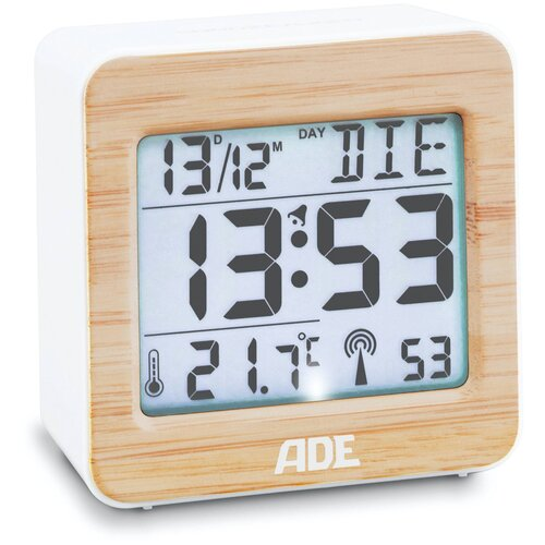 Радиоуправляемые часы с будильником ADE CK1941