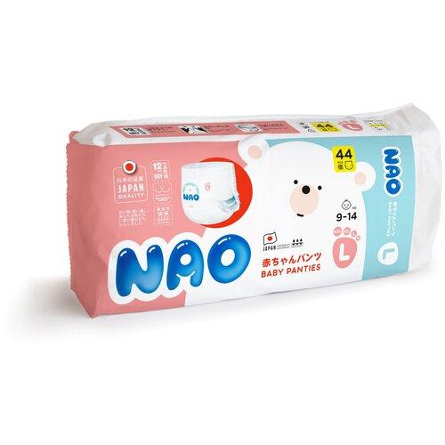 Купить NAO трусики L (9-14 кг) 44 шт., Подгузники